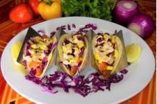 Mediterranean Fish Tacos