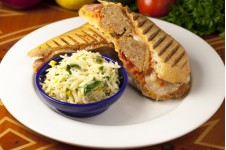 Meatball Parmesan Panini